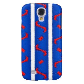 Rode Wit en Blauw Galaxy S4 Hoesje