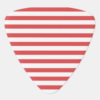 Rode & Witte Gestreept - de oogst van de Gitaar Gitaar Plectrum 0