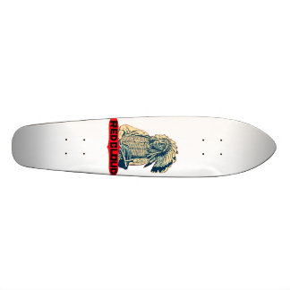 Rode Wolk 18,4 Cm Mini Skateboard Deck