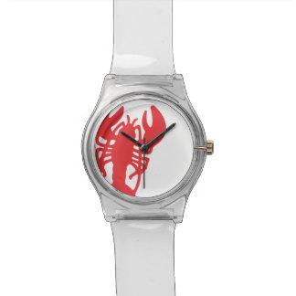Rode Zeekreeft Horloge