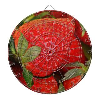 Rode Zoete Aardbeien Dartbord