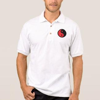 Rode & Zwarte Yin Yang Polo