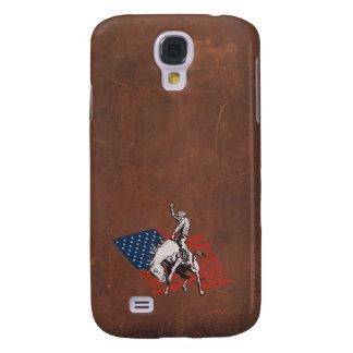 Rodeo de V.S. - Amerika, het Paard van de Cowboy Galaxy S4 Hoesje