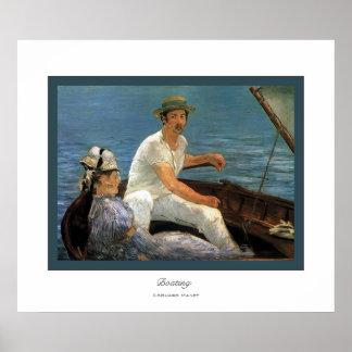 Roeien ~ Edouard Manet Poster