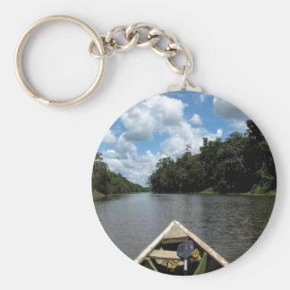 Roeien onderaan Amazonië Sleutelhanger