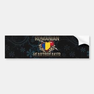 Roemeense Heartbreaker Bumpersticker