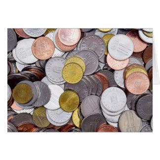 Roemeense muntmuntstukken briefkaarten 0