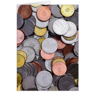Roemeense muntstukken briefkaarten 0