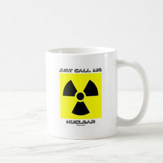 Roep me Kern enkel (Radioactief Waarschuwingssein) Koffiemok