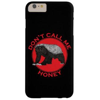 Roep me niet Honing, Art. van de Das van de Honing Barely There iPhone 6 Plus Hoesje