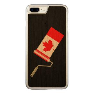 Rol van de Verf van de Vlag van het Blad van de Carved iPhone 8 Plus / 7 Plus Hoesje