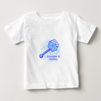 Roleplayer in het Blauw van de Opleiding Baby T Shirts