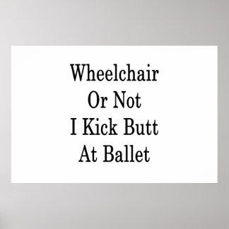 Rolstoel schop ik of niet Uiteinde bij Ballet Poster