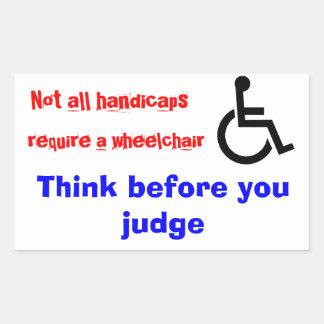 rolstoel stickers