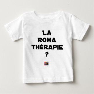 ROMA THERAPIE? - Woordspelingen - François Stad Baby T Shirts