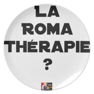 ROMA THERAPIE? - Woordspelingen - François Stad Melamine+bord