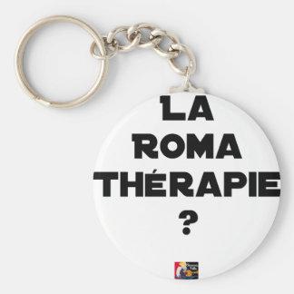 ROMA THERAPIE? - Woordspelingen - François Stad Sleutelhanger
