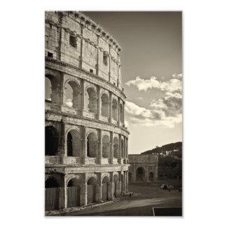Roman Druk Colosseum Foto Afdrukken