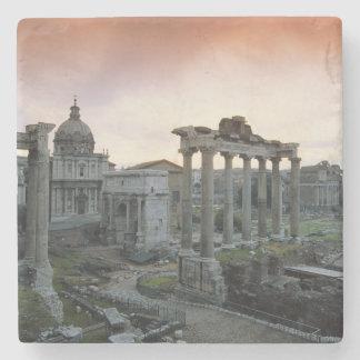 Roman Forum bij dageraad Stenen Onderzetter