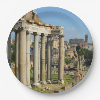 Roman Forum in Rome Papieren Bordjes