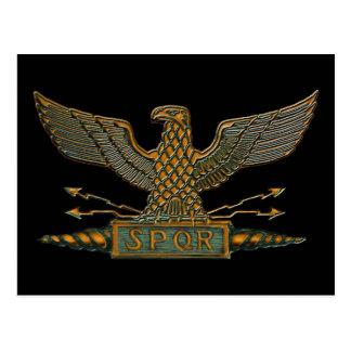 Roman Koper van Eagle eindigt Briefkaart