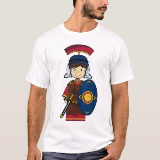 Roman Militair met het T-shirt van het Schild