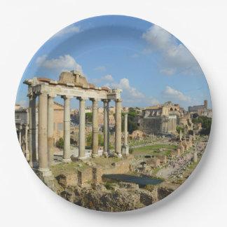 Roman Ruïnes in Rome Papieren Bordjes