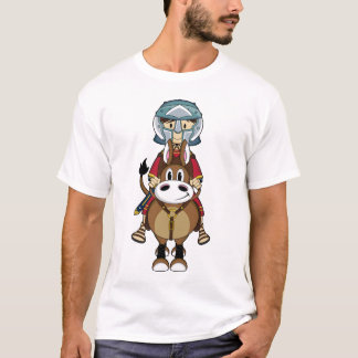 Roman T-shirt van de Gladiator & van het Paard