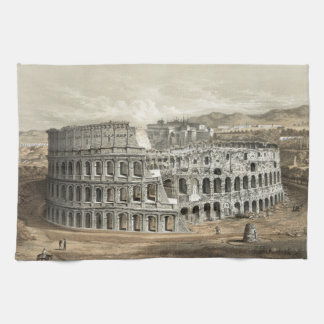 Roman Vintage Art. Coliseum Theedoek