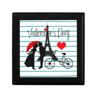 Romance in Parijs Decoratiedoosje