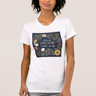 Romance V | van de herfst de Ware Einden van Love T Shirt