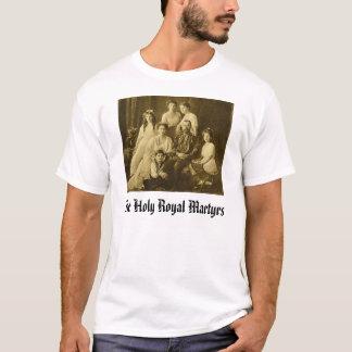 Romanov, de Heilige Koninklijke Martelaren T Shirt