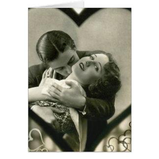 Romantisch binnen een Hart Briefkaarten 0