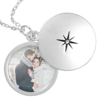Romantische Gift | Uw Persoonlijke Foto Zilver Vergulden Ketting