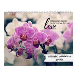 Romantische Inspirerend Citaten Kalender