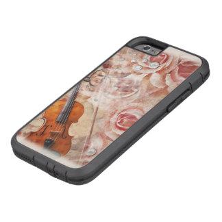 Romantische iPhone 6 van Xtreme van de Viool Taaie Tough Xtreme iPhone 6 Hoesje