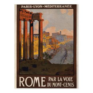 Rome door mont-Cenis Briefkaart