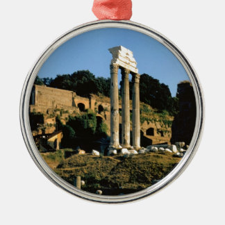 Rome, Foro Romano, 1956 Zilverkleurig Rond Ornament