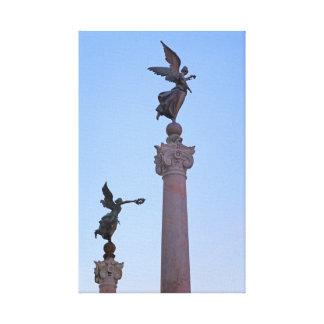 Rome Italië Canvas Afdruk