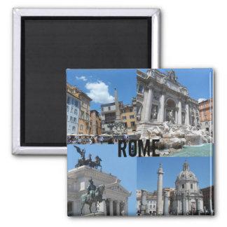 Rome, Italië Vierkante Magneet
