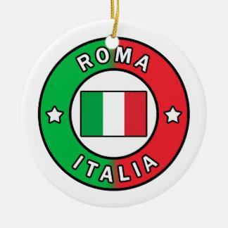 Rome Italië Rond Keramisch Ornament