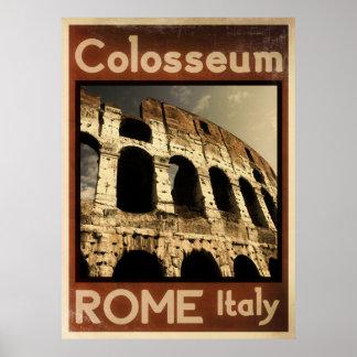 Rome Italië vintage poster