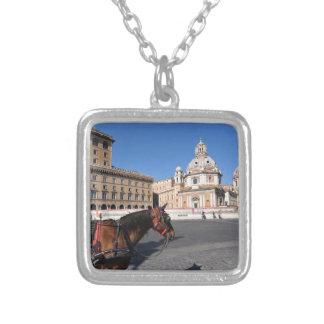 Rome, Italië Zilver Vergulden Ketting