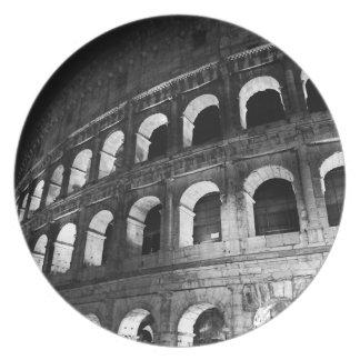 Rome Rome Italië Coliseum Colosseum Party Bord