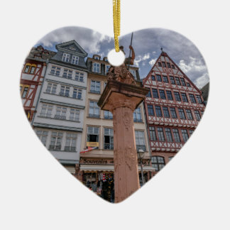 Romer Frankfurt Keramisch Hart Ornament