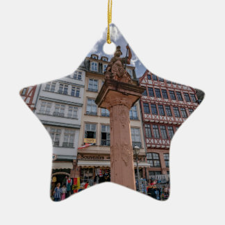 Romer Frankfurt Keramisch Ster Ornament