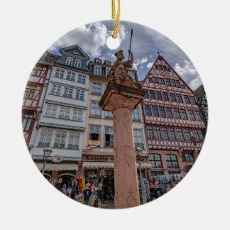 Romer Frankfurt Rond Keramisch Ornament