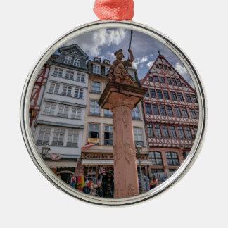 Romer Frankfurt Zilverkleurig Rond Ornament