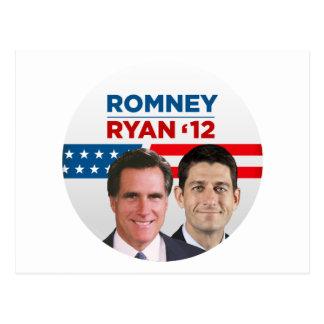 Romney Ryan 2012 Briefkaart