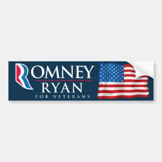 Romney Ryan voor de Stickers van de Bumper van